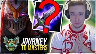 NEW BotrK ON ZED IS OP?!   Stylin' On KIDS - Journey To Masters #25 S7 - League of Legends