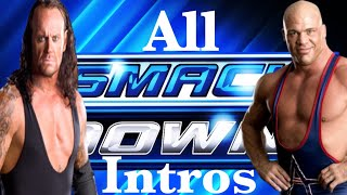 WWE SmackDown All Intros (1999 - 2012)