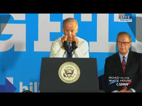 Joe Biden Campaigns For Hillary Clinton In Warren Ohio FULL Speech