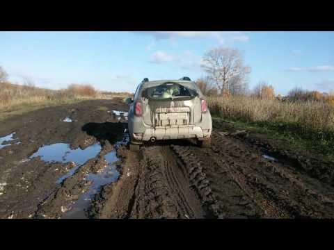 Покатушки Дастера в грязи
