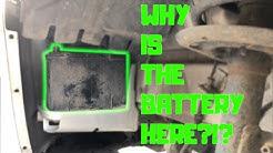 2012 Dodge Journey - Battery Change