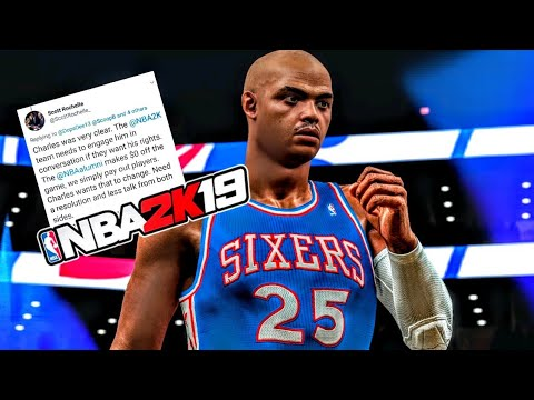 NBA 2K19 - Charles Barkley Wants To Be In NBA 2K19! But It's Up To 2K To Make It Happen! | DominusIV