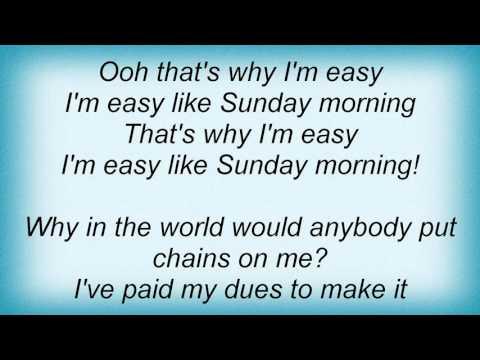 Lionel Richie - Easy Lyrics