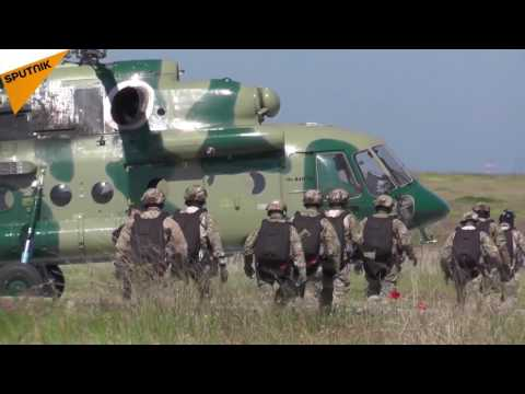 Large-Scale Russian FSB Spetsnaz Drills In Crimea