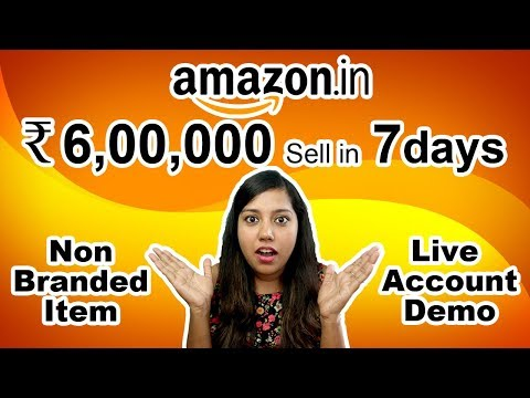 Amazon Business Success 🔥 Selling Generic non branded Product on Amazon India Seller Account Demo