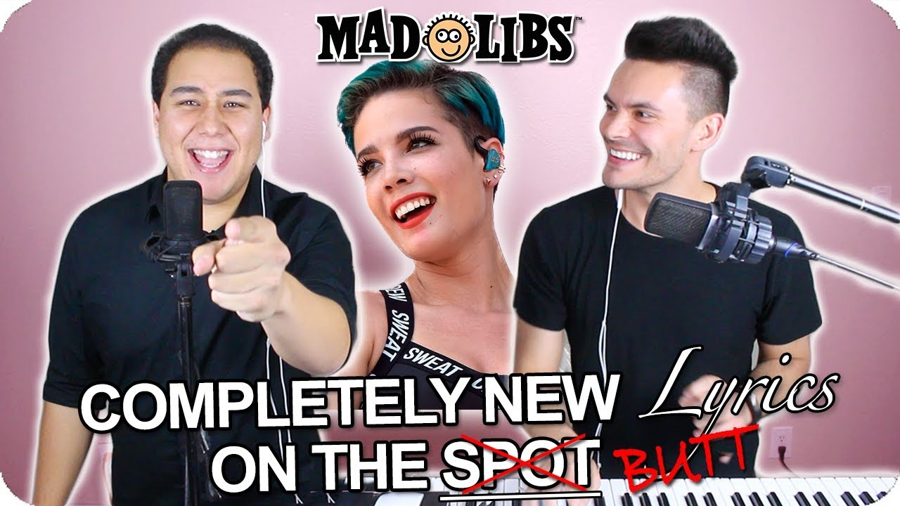 Halsey Without Me Madlibs Cover Live One Take