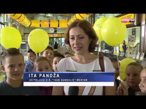 Svjetski dan pošte 9. 10. 2015. Hrvatska pošta Mostar - City TV - Ritam dana