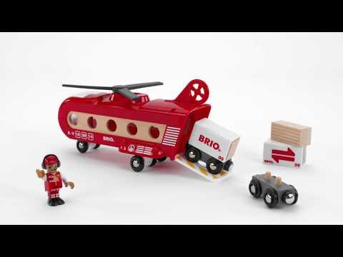BRIO World - 33886 Cargo Transport Helicopter