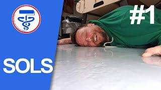 Comment peindre un sol en béton (test du Hi-speed floor de PPG)