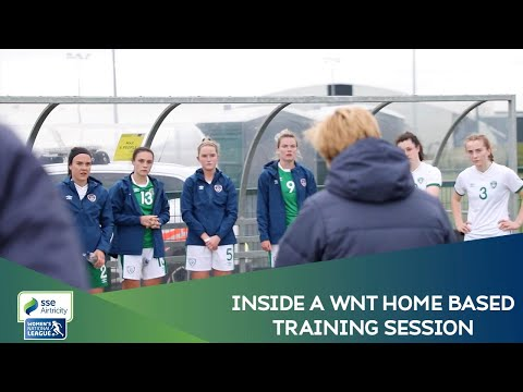 Inside a WNT Home-based Player training session