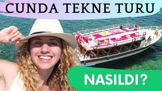 Ayvalık CUNDA TEKNE TURU Nasıl Yapılır? | Cunda Adasını Tekneyle Gezdim!