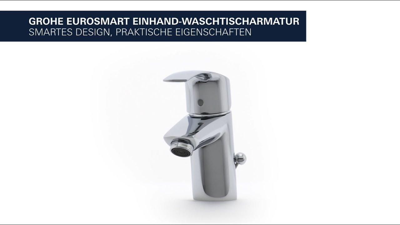 Grohe Eurosmart Waschtischarmatur Spart Energie Und Wasser