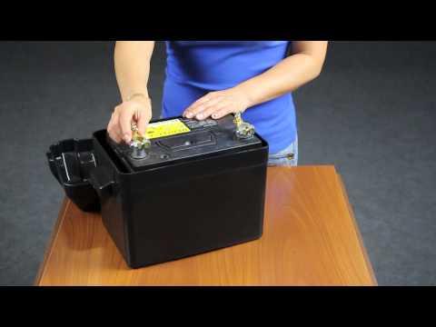 ящик с электроникой для лодки