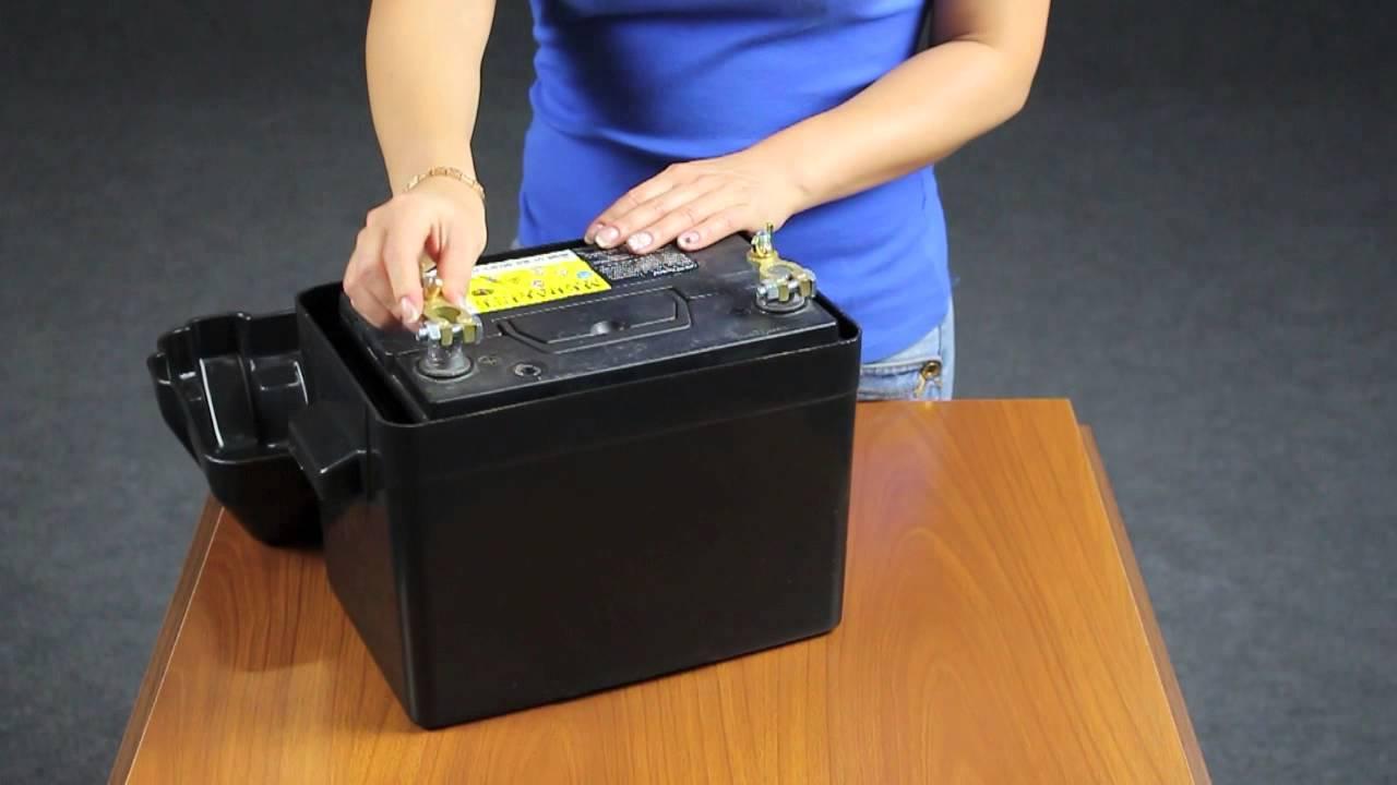 Ящик для лодочного аккумулятора своими руками