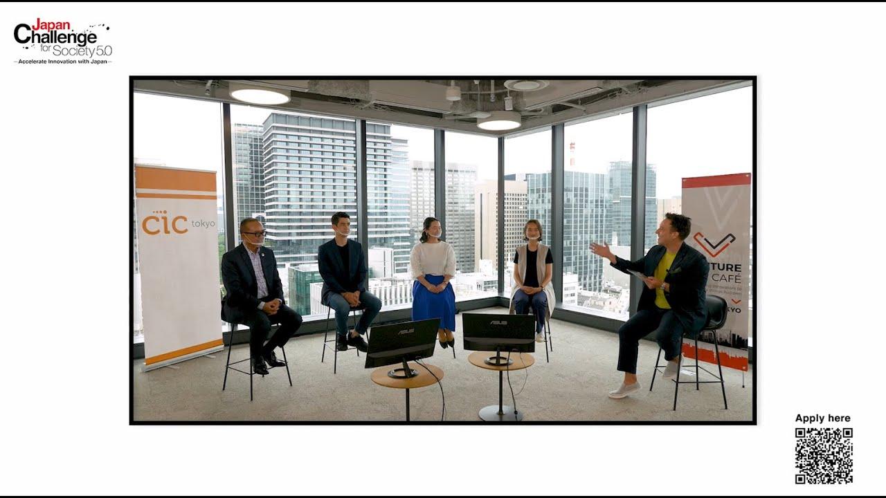Viva Technology 2021 - Japan Challenge for Society 5.0