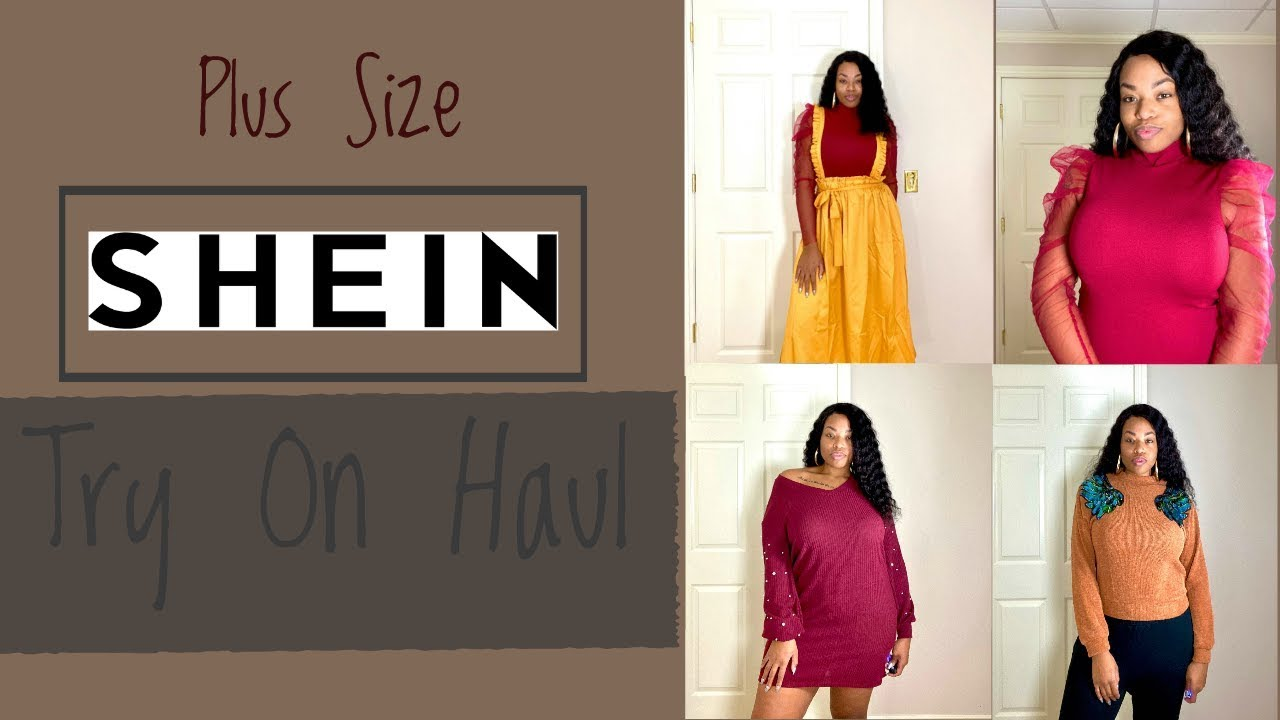 [VIDEO] - PLUS SIZE FALL/WINTER SHEIN TRY ON HAUL|Stephanieohsolovely 4