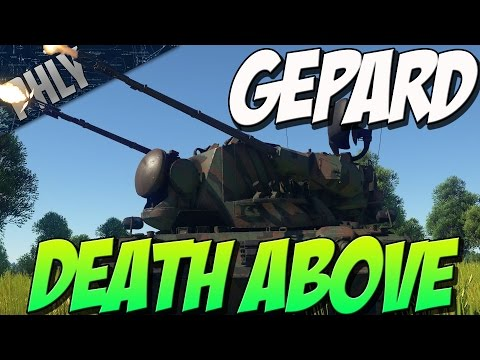 NO PHLY ZONE - Gepard SPAA 35mm AutoCANNONS (War Thunder Tanks)