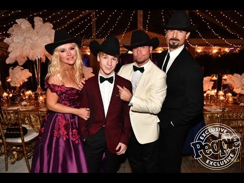 backstreet-boy-brian-littrell's-son-baylee-makes-his-country-music-debut-during-his-sweet-16-bash--