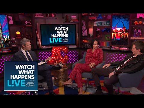 Zoë Kravitz And Eddie Redmayne Get Personal | WWHL