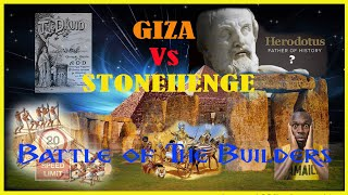 Giza Vs Stonehenge: Battle of the Builders; Fairytales as Facts?