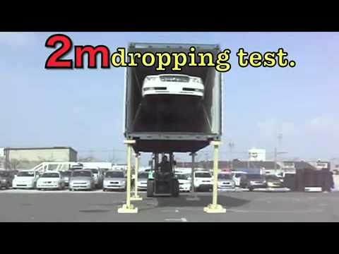 2 Meter Container Drop Test