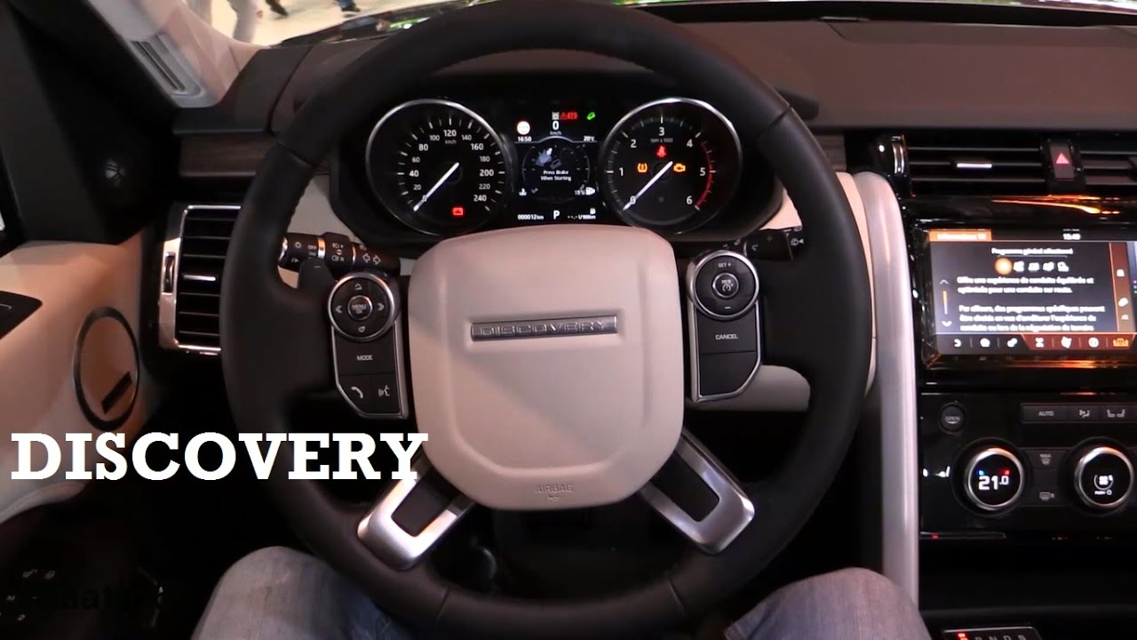 2017 Land Rover Discovery   Interior Review   YouTube