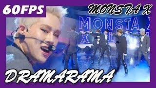 60FPS 1080P | MONSTA X - DRAMARAMA, 몬스타엑스 - 드라마라마 Show Music Core 20171202