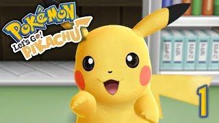 EL COMIENZO DE LA AVENTURA! Pokemon Lets Go! E1 - Luzu