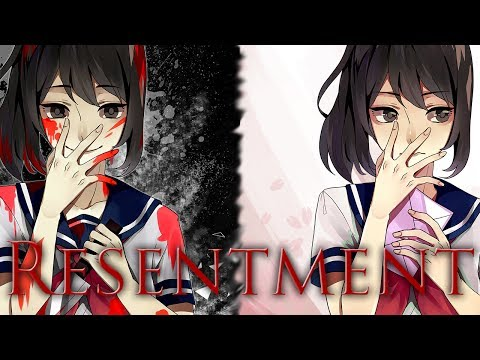 """【Yandere Simulator】Yandere-chan Character Song """"Resentment"""""""