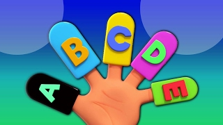 Alphabete Finger Familie | Kinderreim | Learn Alphabets | Educational Video | Alphabet Finger Family