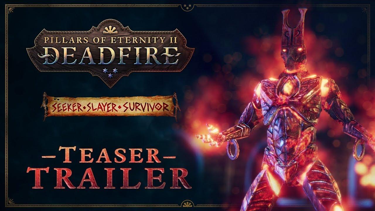 Pillars of Eternity II: Deadfire: Update #55 - Seeker