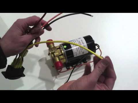 Jabsco Ballast Puppy Wakeboard Ballast Pump YouTube - Jabsco pump wiring
