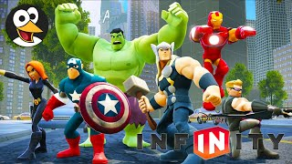 復仇者聯盟 英文字幕 英文配音 | 遊戲影片| 漫威超級英雄 | 复仇者联盟 英文版 | 漫威超级英雄 | 游戏动画