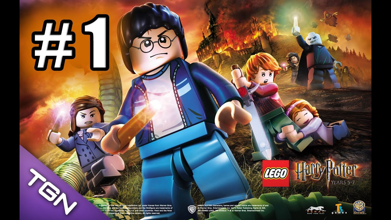 Lego Harry Potter Anos 5 7 Capitulo 1 Hd 720p Youtube