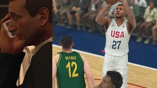 NBA 2K17 The Prelude My Career - Coach K USA vs Australia! PS4(The Rio 2016 Olympics Gold Medal Game! Chris Smoove T-Shirts! http://shop.chrissmoove.com/ Splash the like button for more 2K17 My Career! NBA 2K16 ..., 2016-09-09T12:57:43.000Z)
