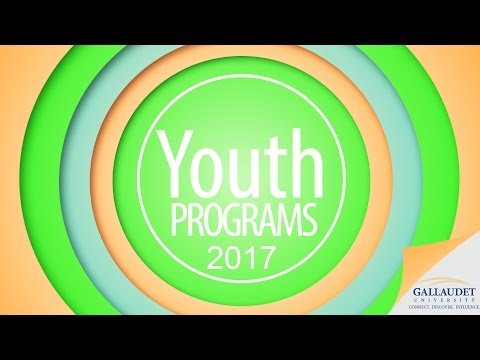 Youth Programs 2016-2017