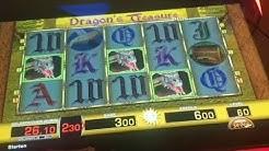Dragons Treasure schmeißt paar Drachen🔥Merkur Magie Tr5 2019