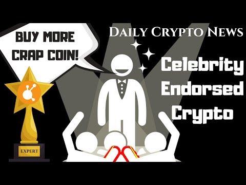 July 2018 Daily Bitcoin News Today- Celebrity Crypto Market Endorsements 2018