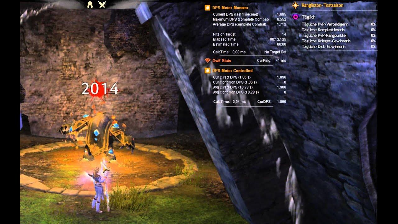 Arc dps guild wars 2