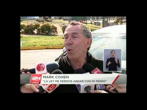 Mark Cohen    TV Interview 24 Horas Central, Concepcion, Chile   19 april 2014