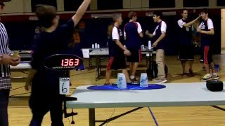 Individual 3-3-3 Sport Stacking World Record 1.363 (William Orrell)