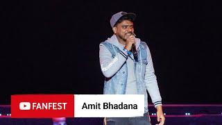Gambar cover Amit Bhadana @ YouTube FanFest Mumbai 2019