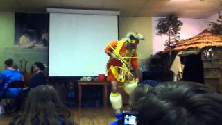 Ronnie Catawba indian dance