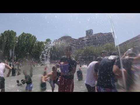 Это #ДЕЛО мокрое в Ереване #Вардавар