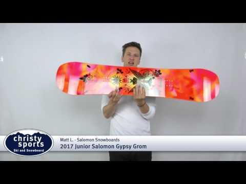53ece1a539 2017 Salomon Jr Gypsy Grom - Girl's Snowboard Review - YouTube