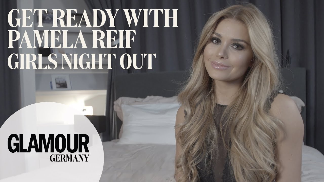 get ready with pamela reif night out with the girls i make up tutorial i too faced youtube. Black Bedroom Furniture Sets. Home Design Ideas