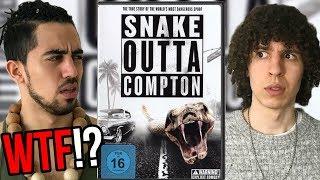 SNAKE Outta Compton.. Nein, das ist kein Tippfehler. Die meinen das ernst.
