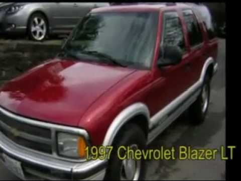1997 Chevrolet Blazerg Youtube