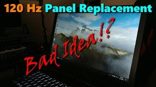 Dell G3 Update - 120Hz Panel Replacement