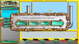 Return of The Incredible Machine Contraptions Walkthrough: Tutorial Levels 1-50